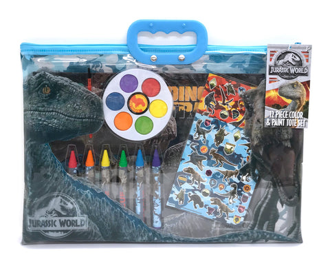 Jurassic World Stationery Set in Carrying Pouch