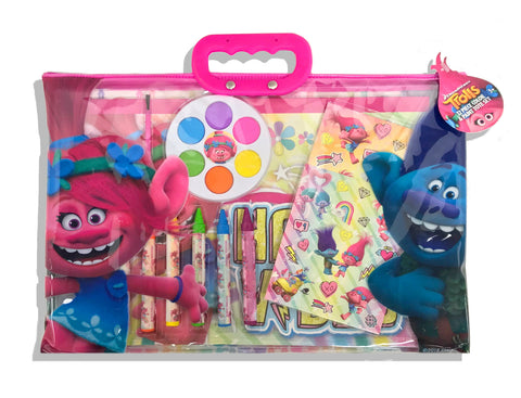 Trolls Stationery Set in Carrying Pouch
