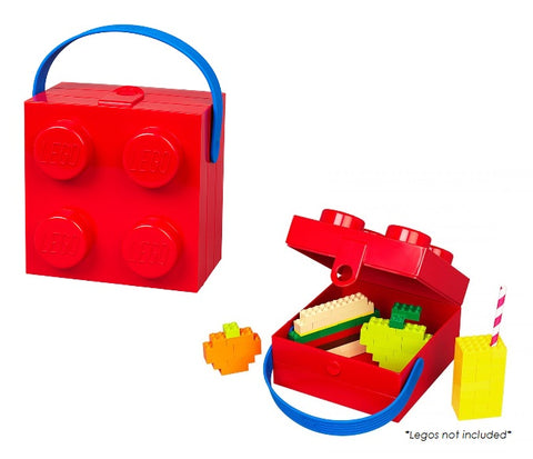 LEGO Red Lunchbox with Handle