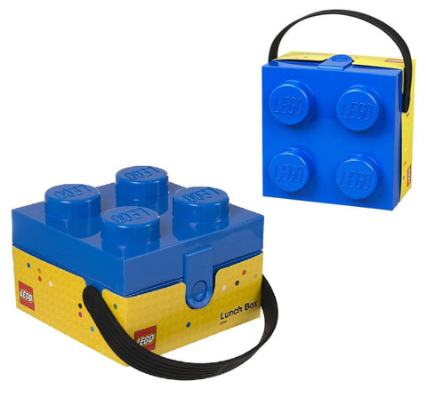 LEGO Blue Lunchbox with Handle