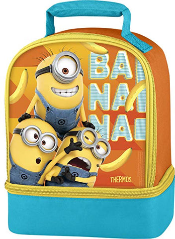 Thermos Minions Banana Drop Bottom Lunch Kit