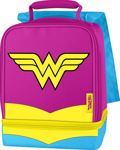 Thermos Wonder Woman Drop Bottom Lunch Kit