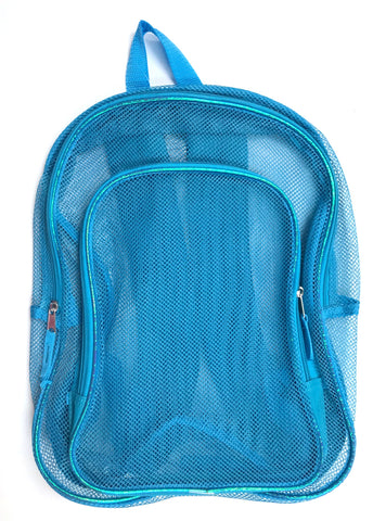 "16"" Blue Basic Backpack"
