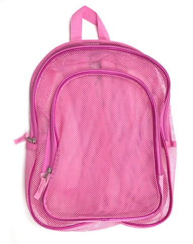 "16"" Pink Basic Backpack"