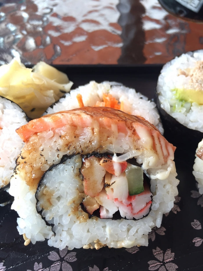 Grilled Salmon Roll