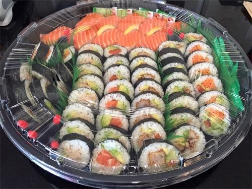40 Piece Sushi Platter - Rice Runner
