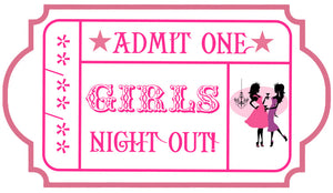 WOWED Ladies Night Out Ticket
