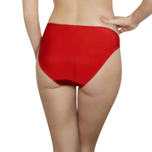 Rosy L'Honerable Brief in Rouge Large