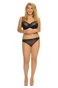 Curvy Kate Princess Thong Black