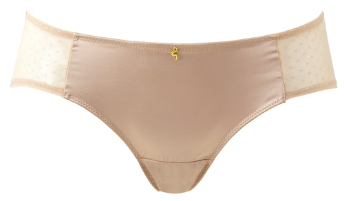 Gossard Dotty Shorts Nude