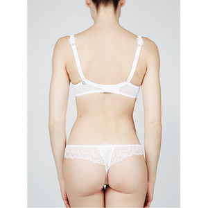 Lejaby Theodora Tanga White | Lingerie outlet store