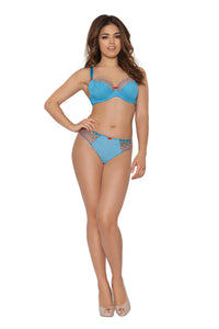 Curvy Kate Cascade Thong Pacific Blue