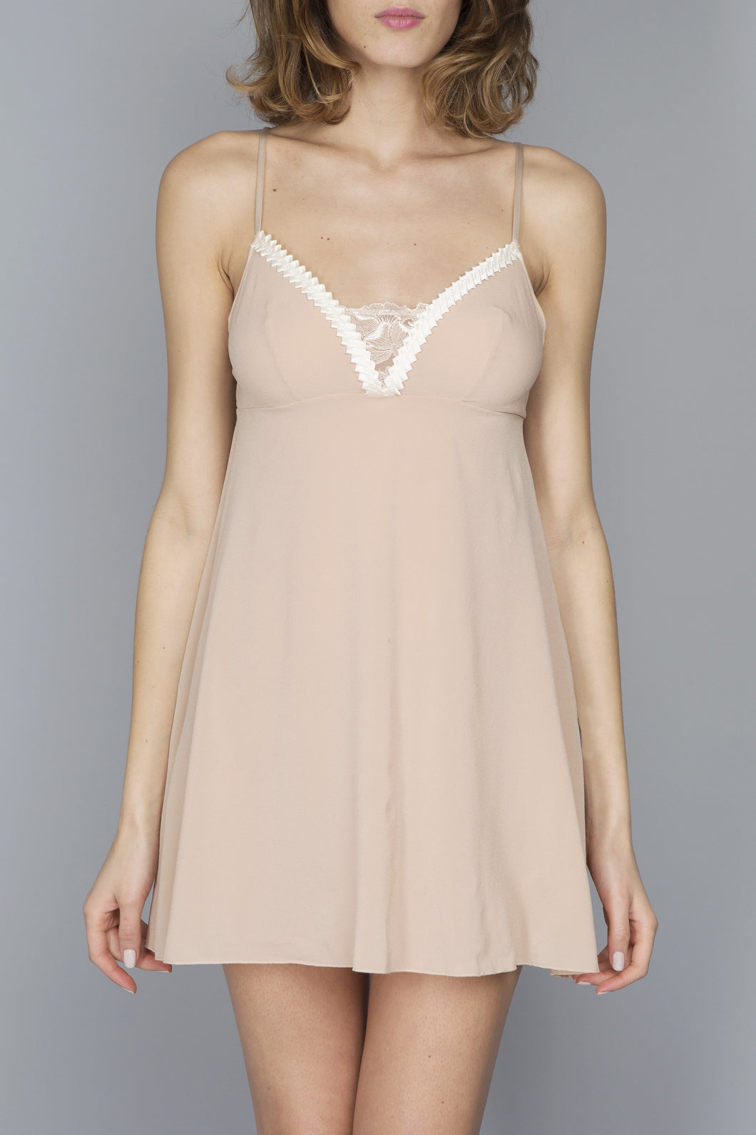 Geisha Nightie Dune by Maison Lejaby