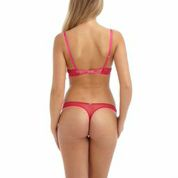 Gossard Dotty Thong Hot Pink