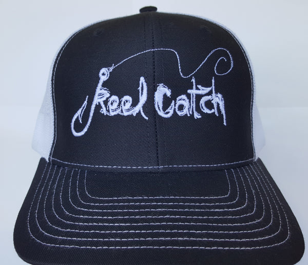 Black White Trucker Hat