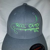 Fishing Pole Flex Fit Hat
