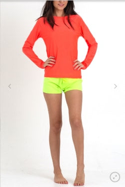 Surfer Girl Citrus Bright Neon Yellow Boardshorts