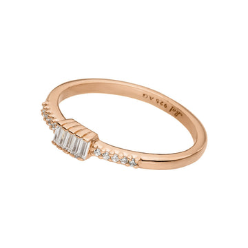 SPARKLE | Ring | rosègold