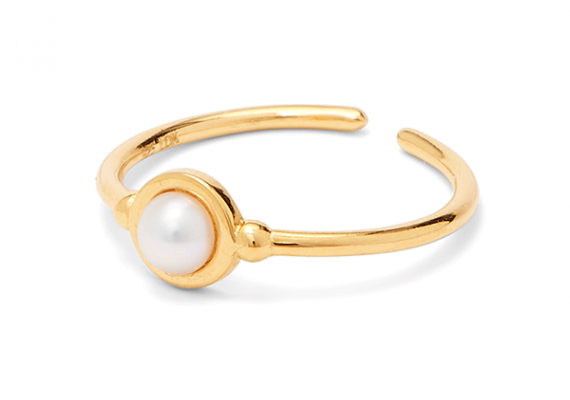 COLOUR PEARL | Ring mit Süßwasserperle
