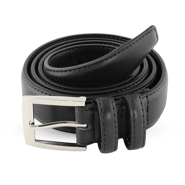 Black Leather Belts For Men - Mens Brown & Black Belt - Dress Casual Men's Belt in Gift Bag - Galleria Brands