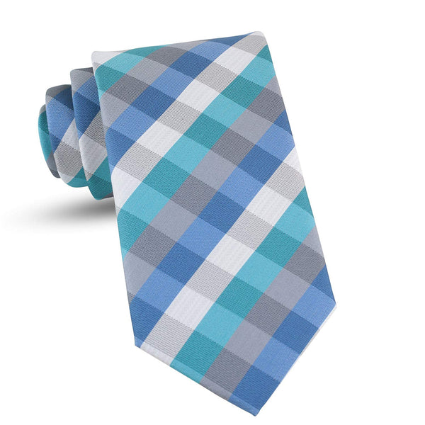 Handmade Plaid Ties For Men Skinny Woven Green Slim Gingham Mens Ties: Thin Tie & Necktie, Stylish Neckties For Every Outfit - Galleria Brands