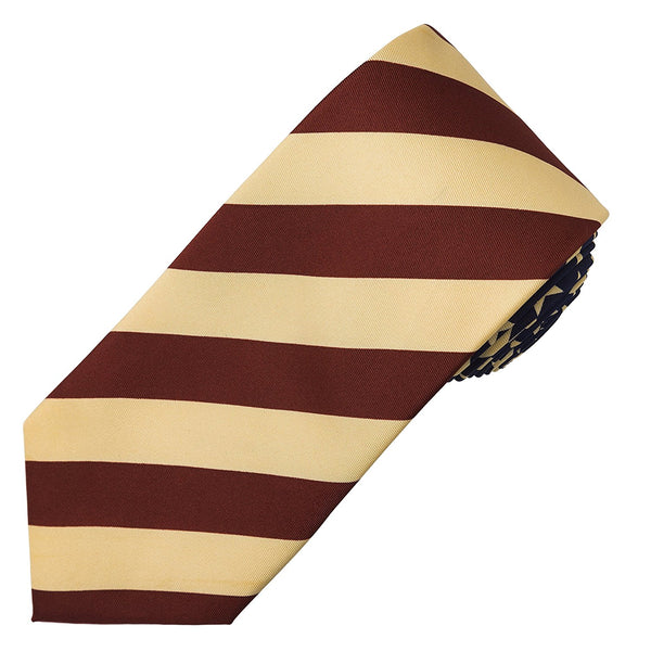 John William Striped American Flag USA Patriotic Red White & Blue Necktie - Galleria Brands