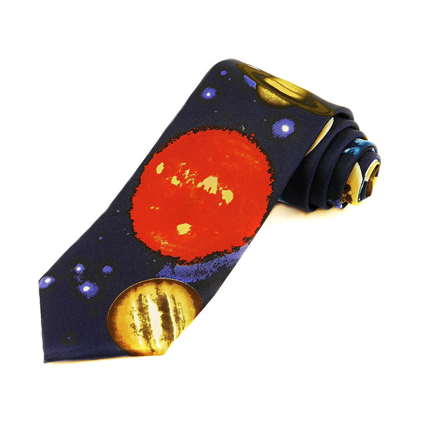 John William Solar System Planets Astronomy Science Tie - Galleria Brands