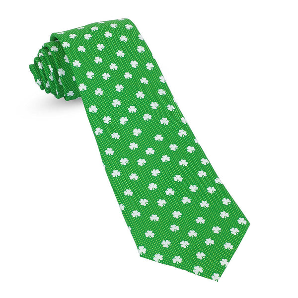 St Patricks Day Irish Green Mens Premium Woven Conversational Novelty Neckties | Microfiber Ties For Men: Fun, Sophisticated – Stylish Accessory – Unique Designs And Patterns - Galleria Brands