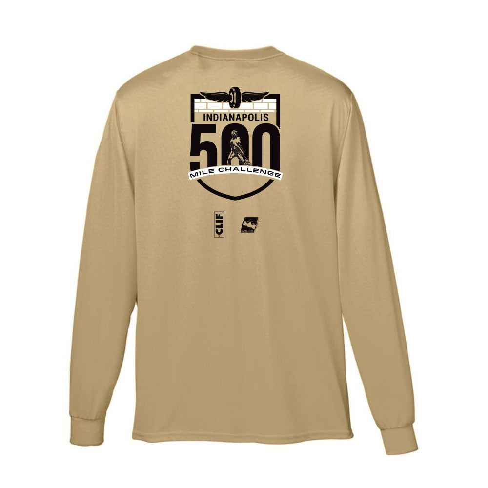 Indy 500 Mile Challenge Performance Finisher's Shirt – Unisex Long Sleeve T-Shirt