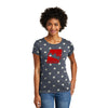 Ladies Eco Patriotic Festival Tee