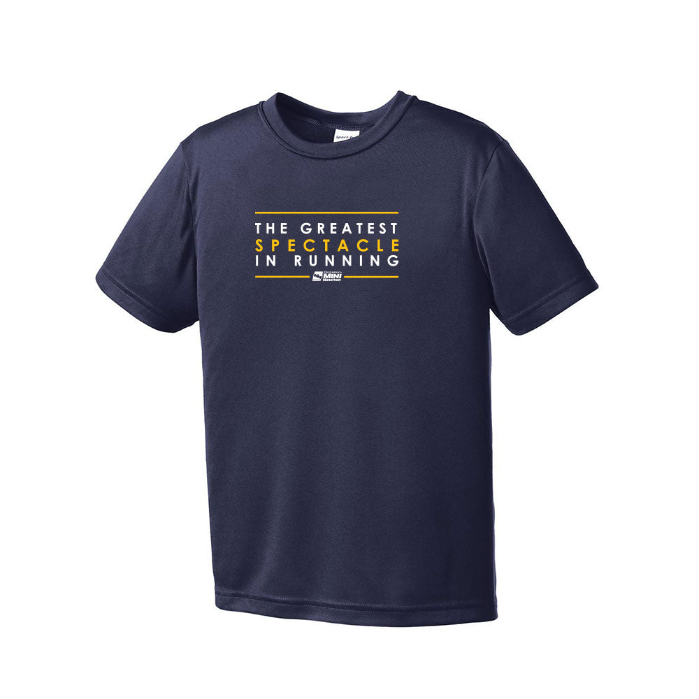 The Greatest Spectacle In Racing PosiCharge Youth Competitor Tee