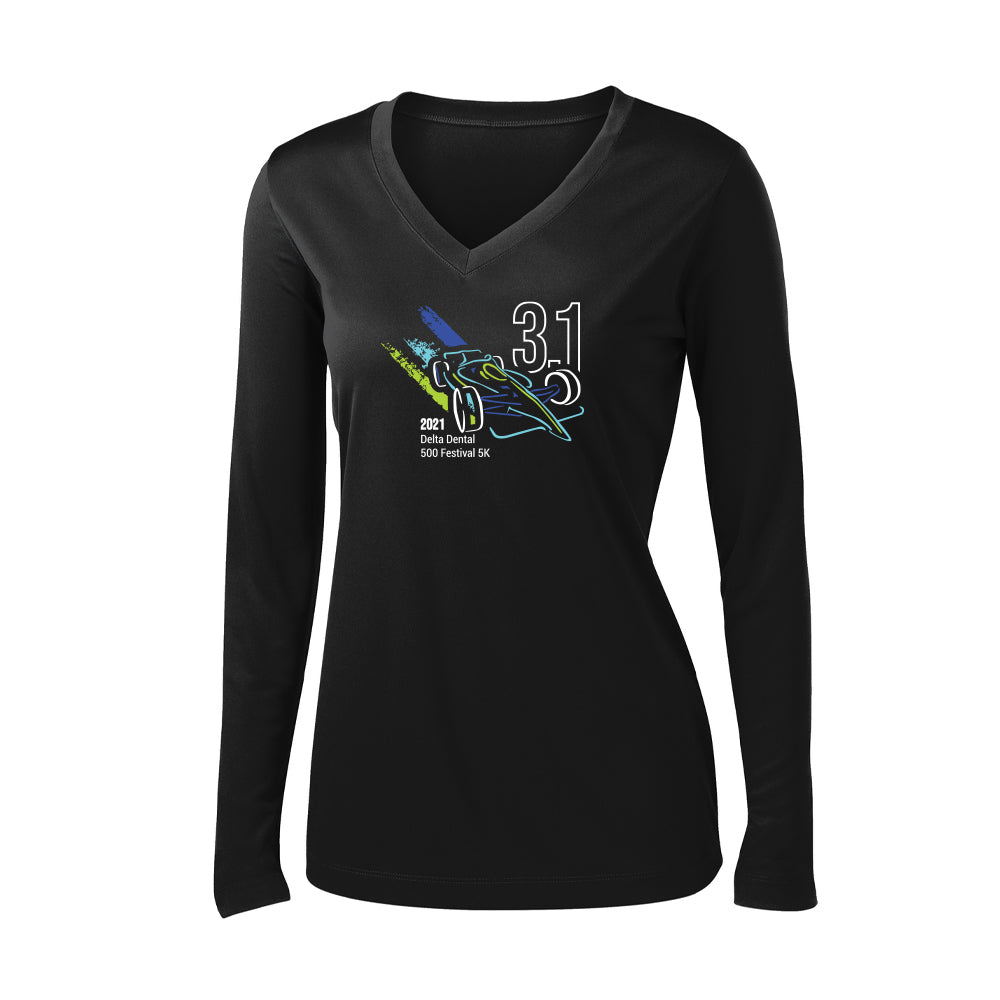 2021 5K Training Shirt – Women's Long Sleeve Tech Shirt