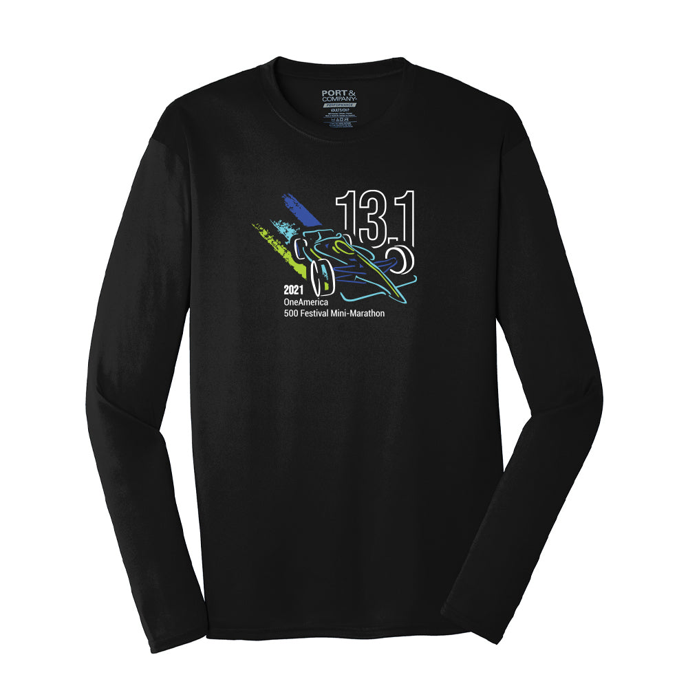 2021 Indy Mini Training Shirt – Men's Long Sleeve Tech Shirt