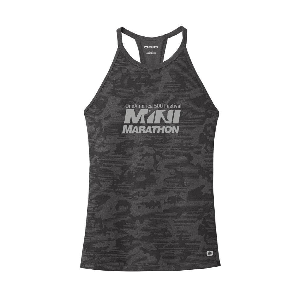 Ladies Pulse Dark Camo Phantom Tank
