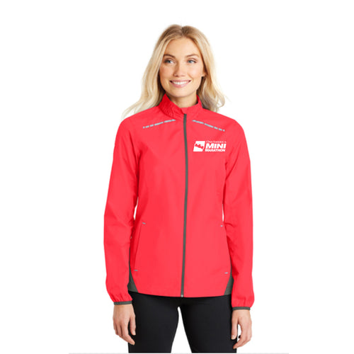 Ladies Light Weight Reflective Runner's Jacket