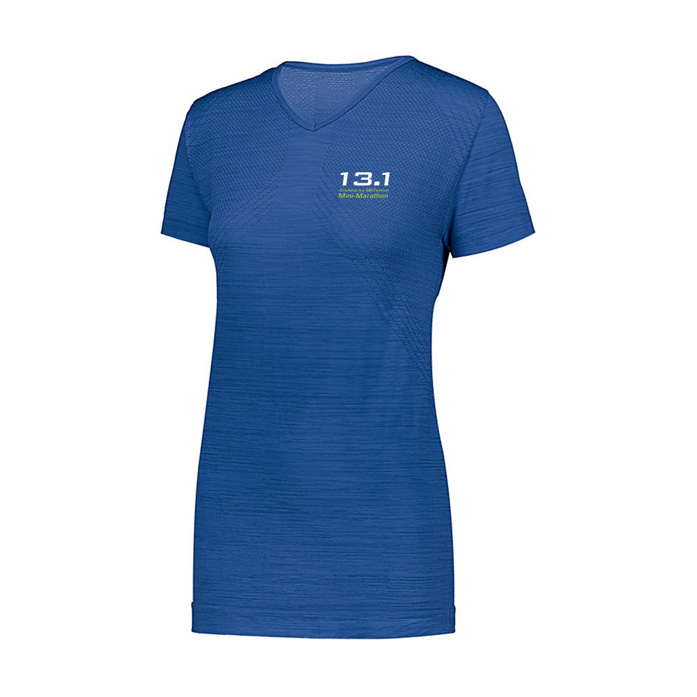 13.1 Indy Mini Ladies Performance Short Sleeve V-Neck (Large Available)