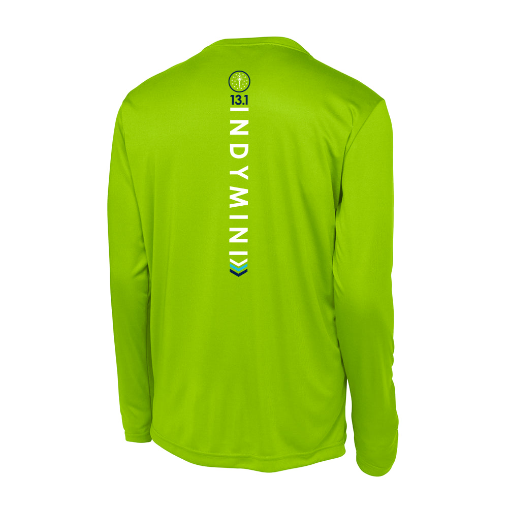 13.1 Indy Mini Long Sleeve PosiCharge Competitor Tee