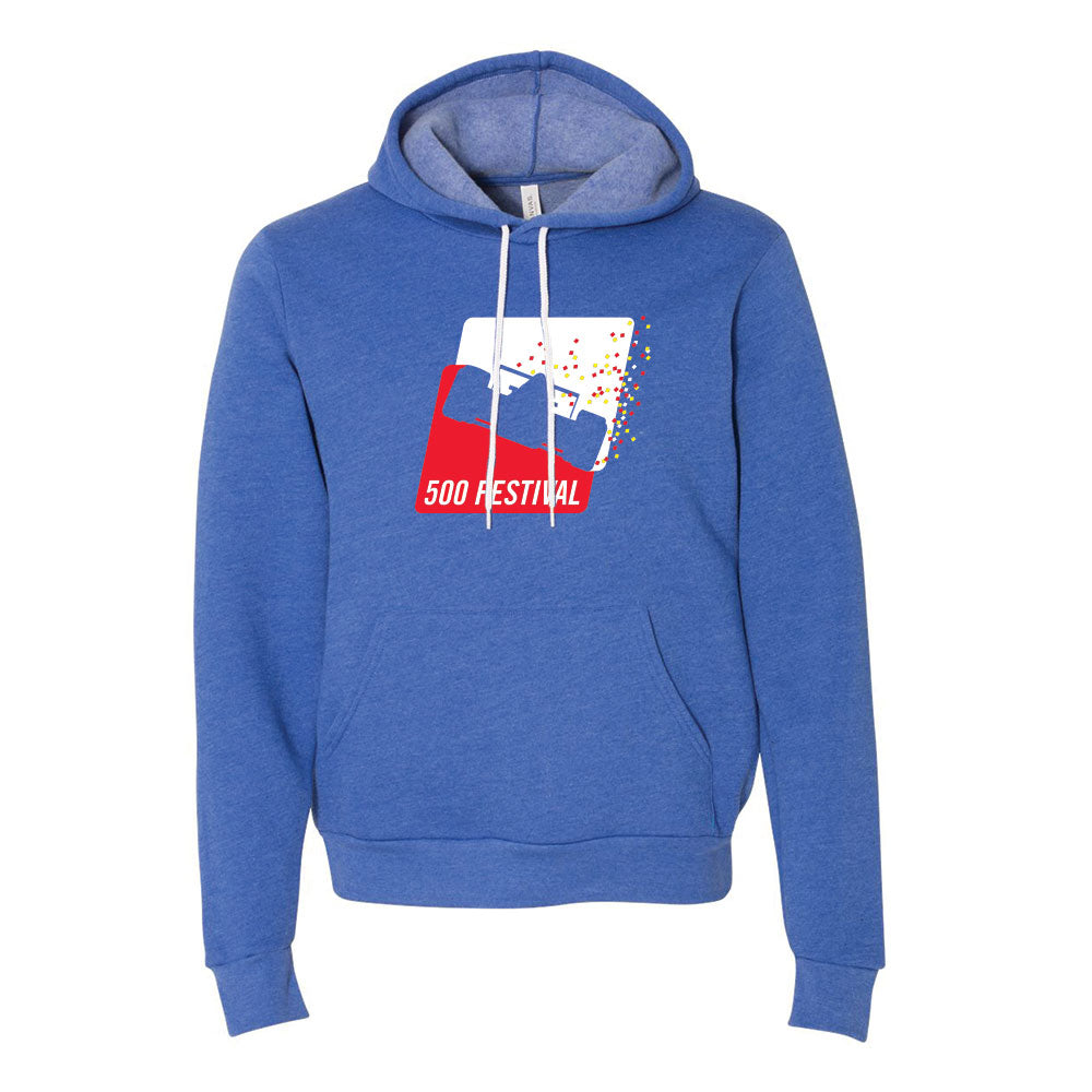 500 Festival Poly-Cotton Fleece Hoodie