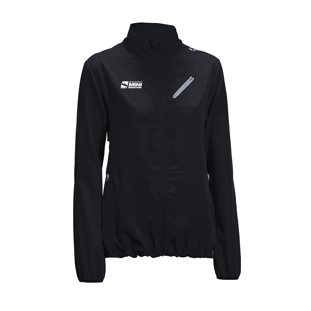 Indy Mini Ladies Water Resistant Run Away Jacket