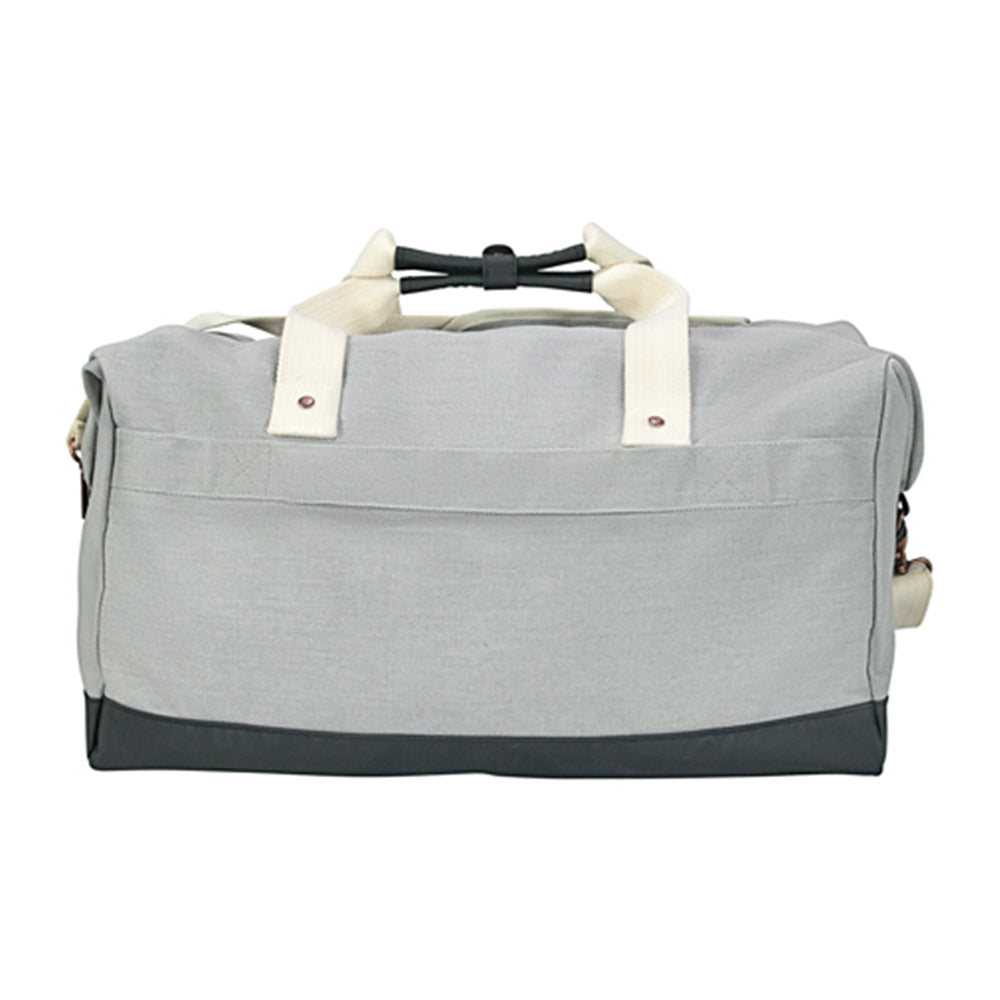 "NEW 500 Festival Cutter & Buck 19"" Cotton Weekender Duffel"