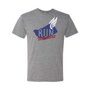 Run Indiana Triblend Tee