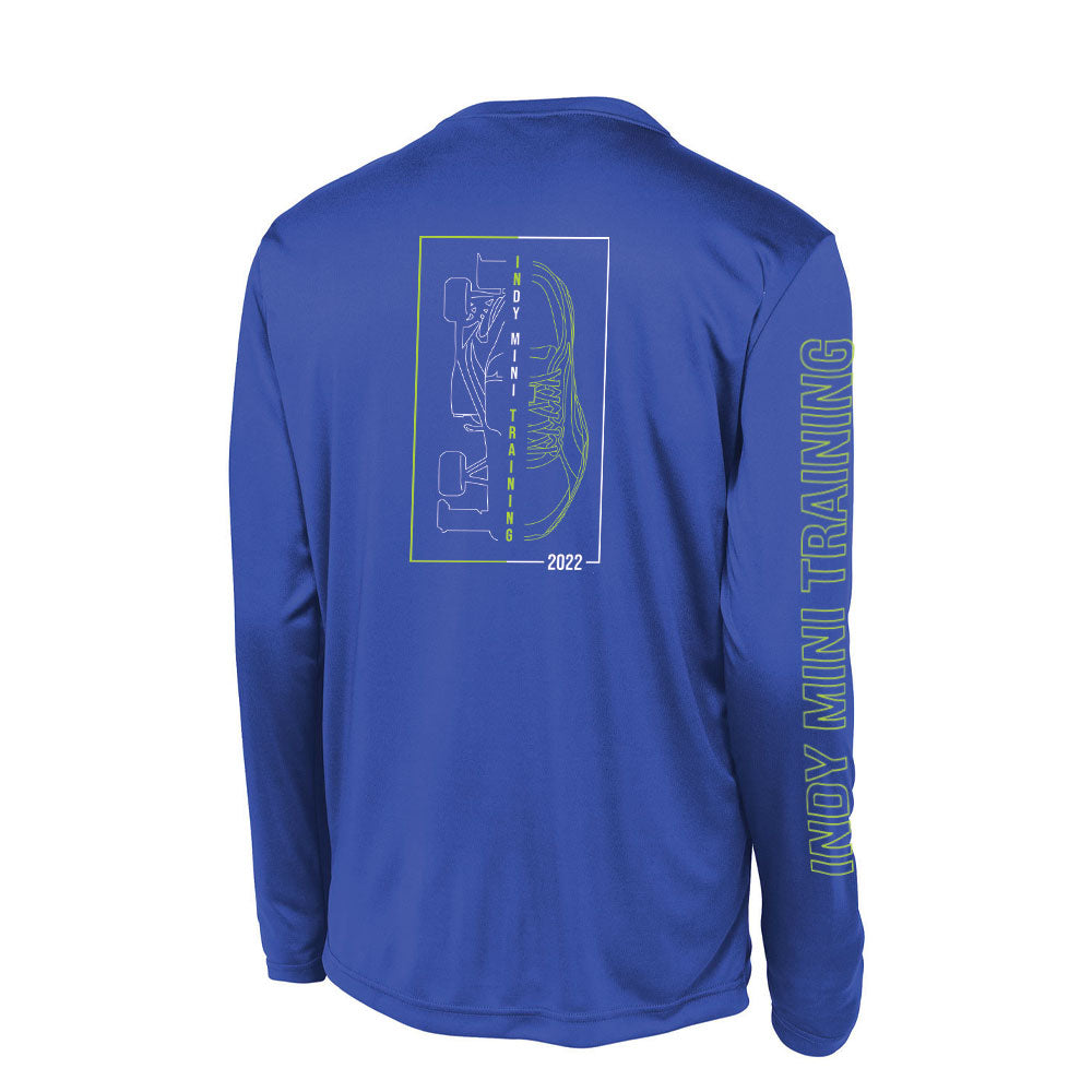 2022 Mens In Training Long Sleeve Performance Tee