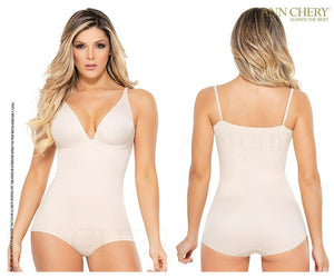 Ann Chery 1586 V-Cleavage Panty Control Body Suit