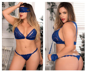 Mapale 8218X Four Piece Bra Set