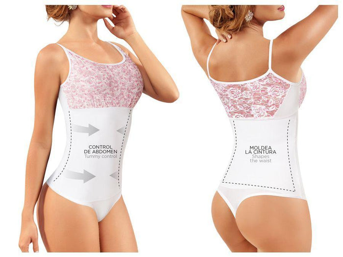 Moldeate 2083 Body Blouse Shaper Color White