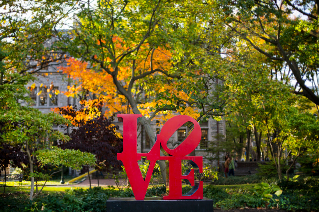 Love Statue, University of Pennsylvania