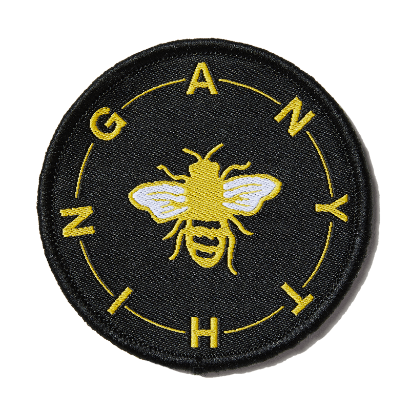 larkshead-black-bee-anything-patch