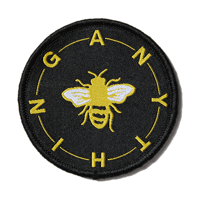 Black Bee Anything Patch