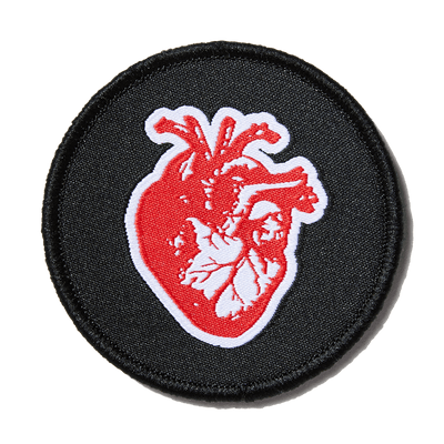 Heart on Your Sleeve Patch