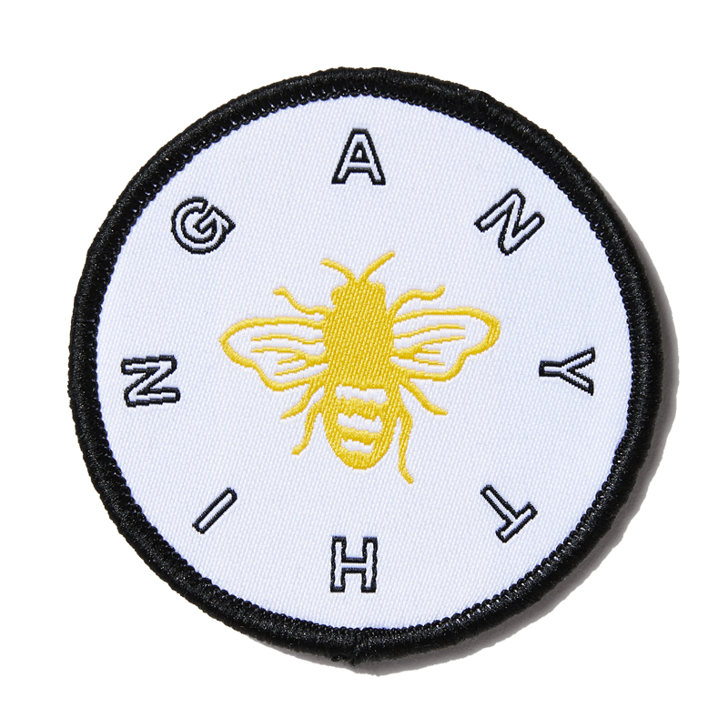 larkshead-white-bee-anything-patch